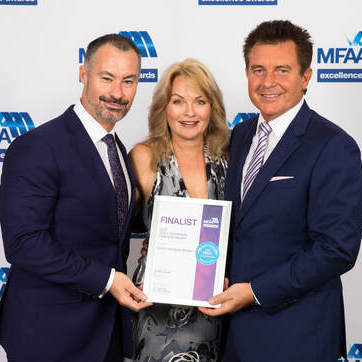 Image of Champion Mortgage Brokers receiving a Home Loan award in Brisbane